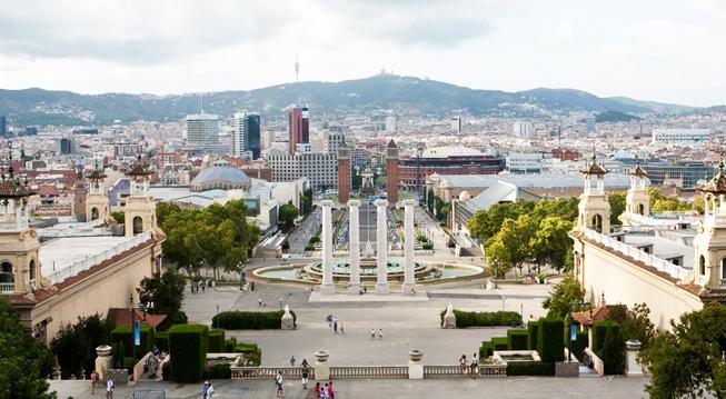 Montjuïc fairgrounds - Fira de Barcelona